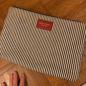 Large gently used Henri Bendel Makeup bag